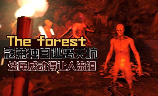 森林实况 寇弟独自逃离天坑