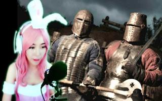 喵女子化身兔女郎化身中世紀騎士打殭屍